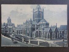 Ireland DUBLIN Christ Church Cathedral - Old Postcard by Curran