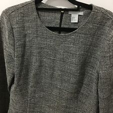 NEW H&M Womens Size 8 Long Sleeved Formal Top Ladies Work Wear Hm Clothing NWOT