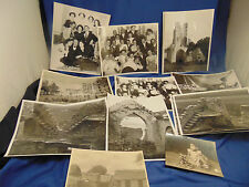 Vintage photographs 13 people places June 1946 Germany early 1900's historic art