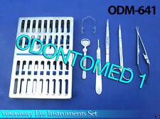Standard Veterinary Eye Set Surgical Veterinary Instruments,ODM-641