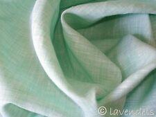 0,5 m Stoff Ökotex ♥ Leinen grün feine leichte Qualität Leinenstoff  170 cm B