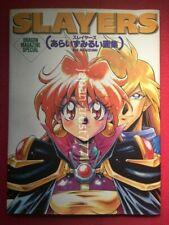 Slayers RUI ARAIZUMI Illstrations Art Book Japanese Book Japan
