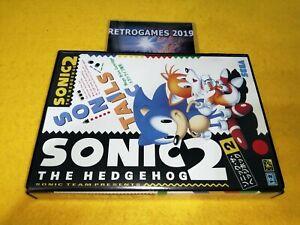 SONIC 2   Sega Mega Drive / Genesis  REG CARD .