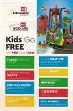 LEGOLAND®️ Gutschein Freieintritt für 1 Kind / Voucher Kids go Free