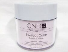 CND Creative Nail Powder Perfect PURE PINK  3.7oz/104g white lid @SALE@