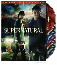 SUPERNATURAL: SEASON 1 DVD - THE COMPLETE FIRST SEASON [6 DISCS] - NEW UNOPENED