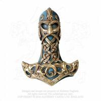 ALCHEMY ENGLAND Gothic Fantasy Viking Mjolnir Ornament WALL MOUNT Thor's Hammer