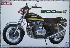 Aoshima 04098 Kawasaki 900 Super4 Z1 1:12 Model - Schwarz