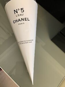CHANEL FACTORY NO 5 MYSTERY POUCH -New Unopened with a few dents in packaging.
