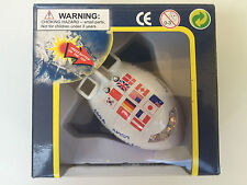Die cast toy planes SONIC SPACECRAFT  IN WINDOW BOXES