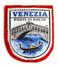 Toppa Patch Venezia - Ponte Di Rialto cm 5,8 x 6,5