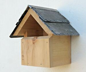 Bird House Nesting Box Robin Wren Welsh Slate Traditional House
