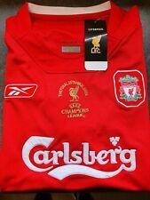 Liverpool Fc large Reebok retro Istanbul European cup 2005 retro Gerrard