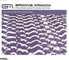 GROOVE ARMADA If  everybody Looked Same 8TRX REMIXES CD Single SEALED  USA Seler