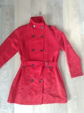 Ladies Lightweight red Coat / Jacket Size 16 By KATIES AS NEW with Pockets