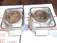 Skidoo Type 467 motor parts: PAIR of STOCK BORE JUGS