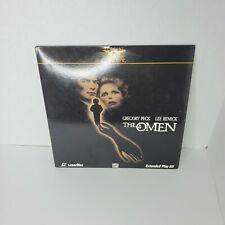 The Omen - laserdisc