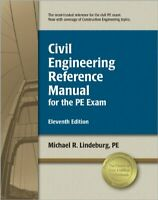 Civil Engineering Reference Manual for the PE Exam by Lindeburg PE, Michael R