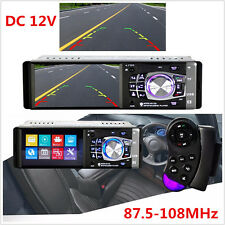 "Car SUV Stereo Radio 4.1"" Bluetooth In-Dash HD MP5 MP3 USB Player Camera DC 12V"