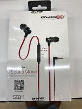 Awei S60hi 3.5mm In-ear Noodle Headphone Headset Earbuds Earphone For Smartphone