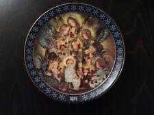 Konigszelt Bayern Collectors Porcelain Plate 'Die Nachtwache der Engel'