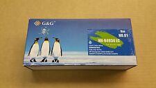 HP 81 Light Cyan Dye Ink Cartridges, Remanufactured New