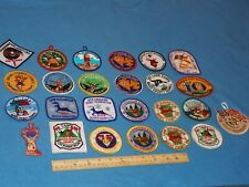 VINTAGE - LOT OF 25 CAMP OCKANICKON CAMP PATCHES - BUCKS COUNTY COUNCIL - MINT