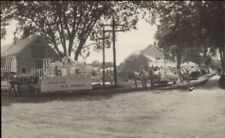 Newport ME Parade LADIES AID ME CHURCH Float c1915 Real Photo Postcard