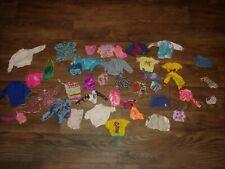 Lot Of 40 Pieces Barbie Clothes Ken Skipper