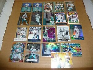 DAN MARINO LOT OF 20 DOLPHINS UNPARALLELED SELECT TRI COLOR OPTIC PRIZM L7187