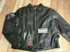 XXL   WOMENS Black Leather Vented Motorcycle Jacket  #0037