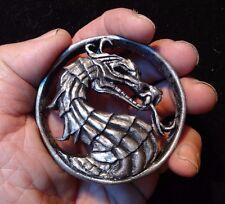Mortal Combat badge pin