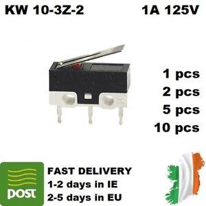 Micro Switch KW10-3Z-2 1A 125V SPDT 3pin 1/2/5/10pcs