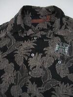 Mens Medium Tori Richard Hawaii Rainbow Warriors silk lyocell hawaiian shirt