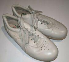SAS Shoes Womens Sz 7.5 N Lace Up Oxfords Beige Leather Tripad Comfort