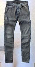 G-Star Jeans 3301 DECONSTRUCTED SUPER SLIM COJ Skinny W32 L36, Raw Grey, grau
