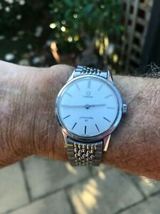 VINTAGE OMEGA  SEAMASTER 30/286 WITH OMEGA STAINLESS STEEL WATCH BANE MADE62/63