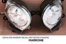 Coppia DX SX Fari Fanale Luce posizione Antinebbia sin dest FIAT 500 da 07> 08>