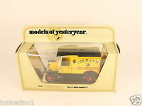 MATCHBOX MODELS OF YESTERYEAR Y-12 1912 FORD MODEL T - 1978 LESNEY NI[OG3-009]