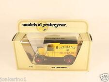 [OG3-9] MATCHBOX MODELS OF YESTERYEAR Y-12 1912 FORD MODEL T - 1978 LESNEY NIB