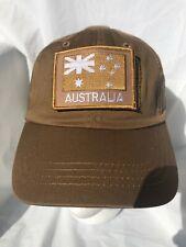 Khaki Tan Tactical Operator Cap with Khaki ANF Patch