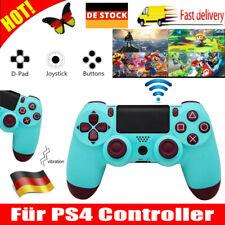 Controller für PS4 Gamepad Dual Vibration Bluetooth Wireless Joystick Kompatibel