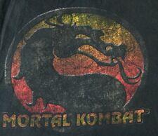 Mortal Kombat Vtg Tee 2XL Tshirt Video Game 100% Cotton Arcade