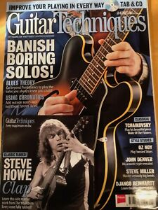 Guitar Techniques magazine & CD: May 2015