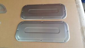 1961-1966 Ford F100 Truck Custom steel Lower Access panels w/Bead Roll design