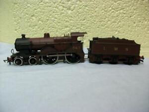 Class 2P 4-4-0 Steam Loco 563 LMS Maroon Mainline No 937514 '00' Light Use 1980s