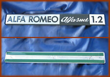 ALFA ROMEO ALFASUD 1.2 - SCRITTA METALLICA BADGE
