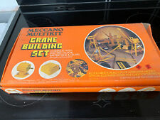 Meccano Crane Building Set