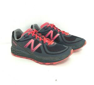 New Balance Fresh Foam Hierro Running Trainers UK 7 Grey Pink Women's 031313