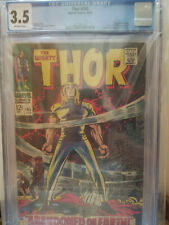 THE MIGHTY THOR #145 CGC 3.5 Kirby RINGMASTER  CIRCUS OF CRIME Tales of Asgard
